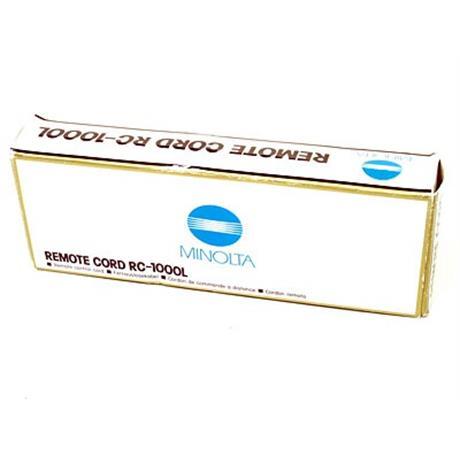 Minolta RC1000L Remote Cord thumbnail