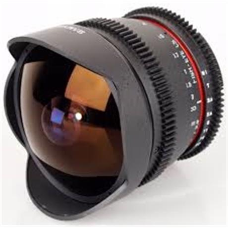 Samyang 8mm F3.5 Aspherical IF MC Fish-Eye - Canon EOS thumbnail