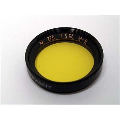 B+W 25.5mm Medium Yellow (022)  thumbnail