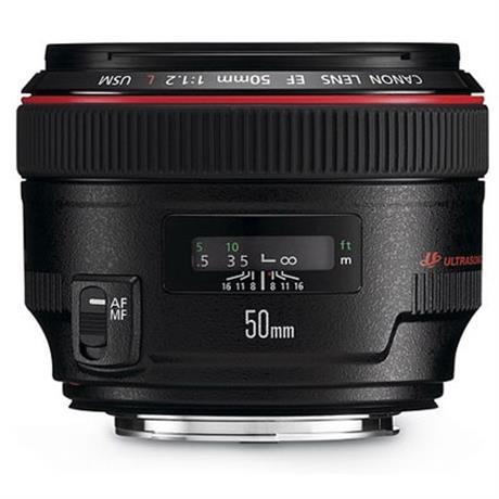 Canon 50mm f1.2 L USM thumbnail