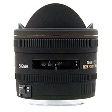 Sigma 10mm F2.8 EX DC HSM Fisheye - Nikon AF thumbnail