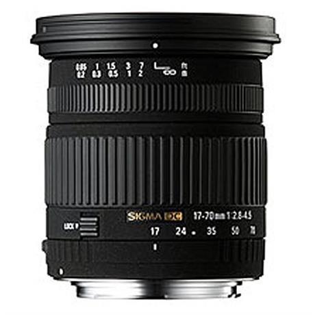 Sigma 17-70mm F2.8-4 DC OS Macro HSM C - Nikon AF thumbnail