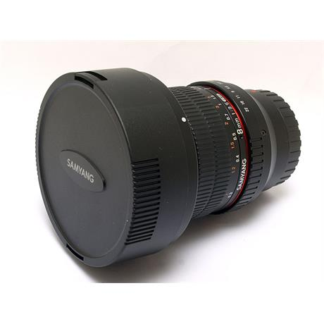 Samyang 8mm F3.5 UMC CS II Fisheye - Samsung NX thumbnail