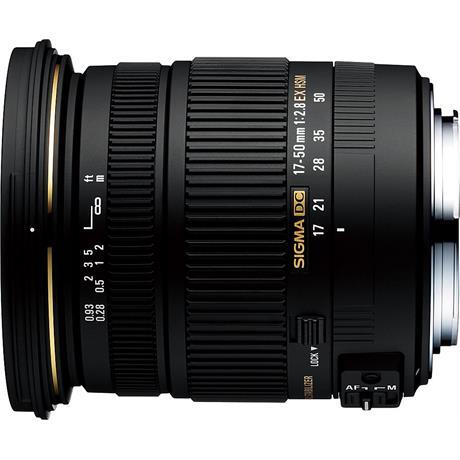 Sigma 17-50mm F2.8 EX DC OS HSM - Nikon AF thumbnail