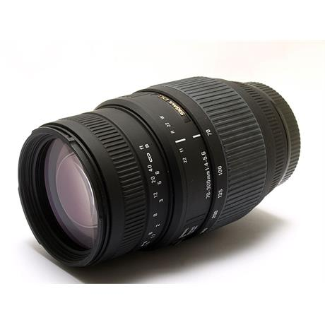Sigma 70-300mm F4-5.6 DG - Canon EOS thumbnail