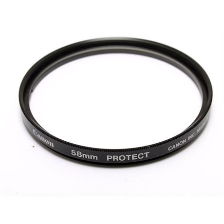 Canon 58mm Protector  thumbnail