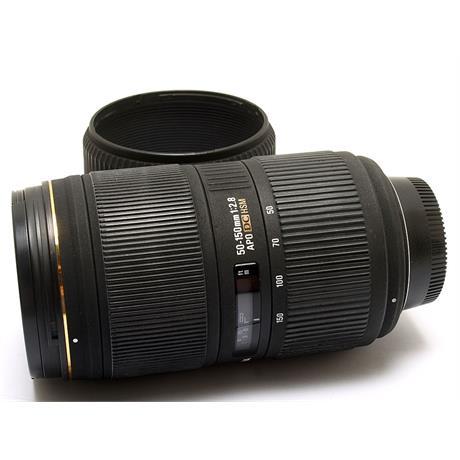 Sigma 50-150mm F2.8 Apo EX DC HSM - Nikon AF thumbnail