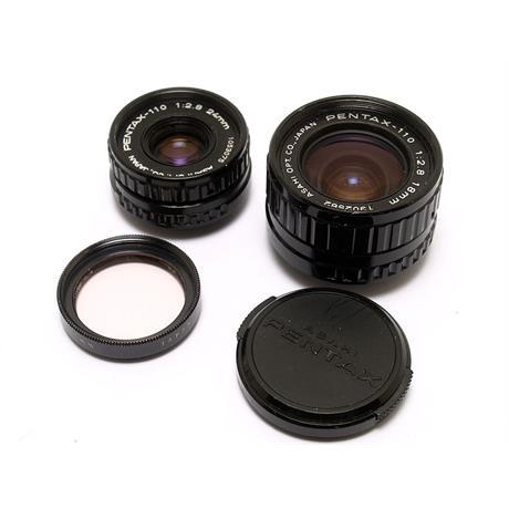 Pentax 18mm F2.8 + 24mm F2.8 thumbnail