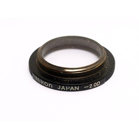 Nikon F3 Dioptre -2 thumbnail