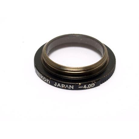 Nikon F3 Dioptre -4 thumbnail