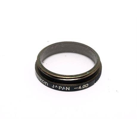 Nikon FM3A/FM2/FE2/FA Dioptre -4 thumbnail