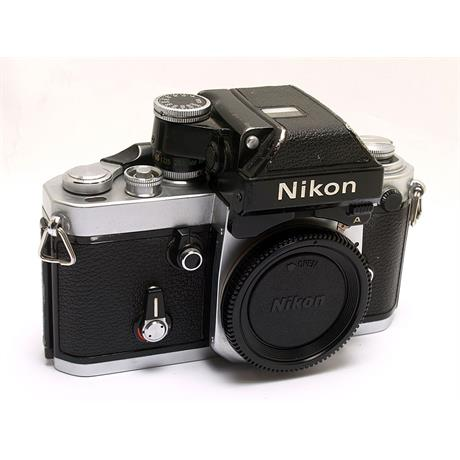 Nikon F2A Body Only - Chrome thumbnail