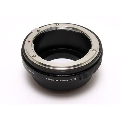 SRB Nikon (G) - Micro 4/3rds Lens Mount Adap thumbnail