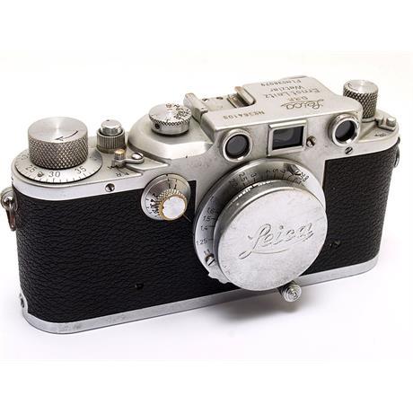 Leica IIIC Luftwaffe + 50mm F3.5 thumbnail