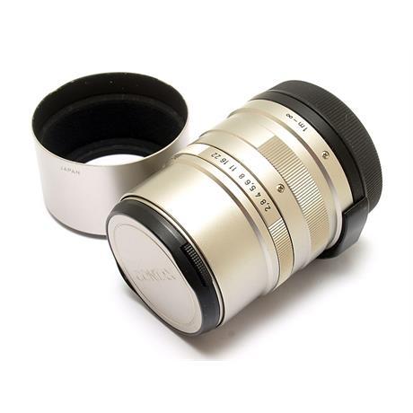 Contax 90mm F2.8 G + Hood thumbnail