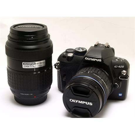 Olympus E420 + 14-42mm + 40-150mm thumbnail