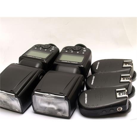 Photoflex 2x M800C Speedlites + 3x Transceivers - Canon EOS thumbnail