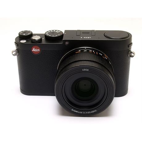 Leica X - Black (Type 113) thumbnail