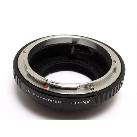 Quenox Canon FD - Samsung NX Lens Mount Adapter thumbnail