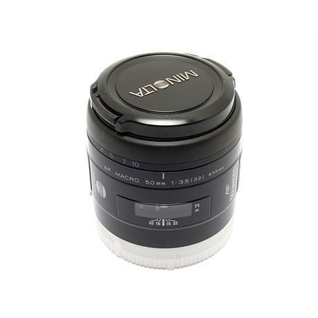 Minolta 50mm F3.5 AF Macro thumbnail