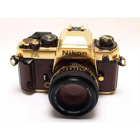 Nikon FA Gold + 50mm F1.4 thumbnail
