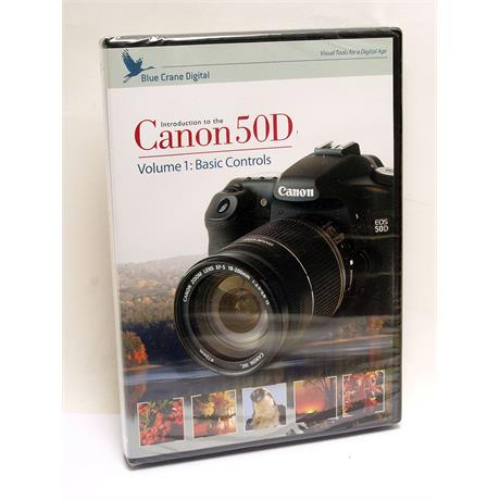 Blue Crane Canon EOS 50D Basic Control Vol 1 DVD thumbnail