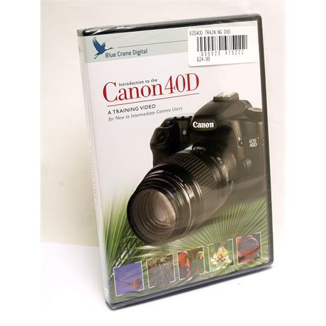 Blue Crane Canon EOS 40D Training DVD thumbnail