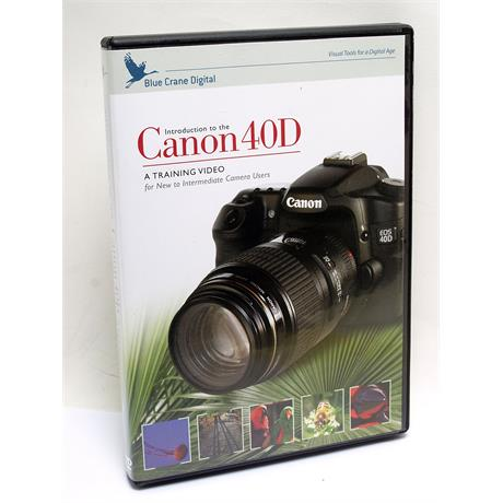 Blue Crane Canon EOS 40D Training DVD thumbnail