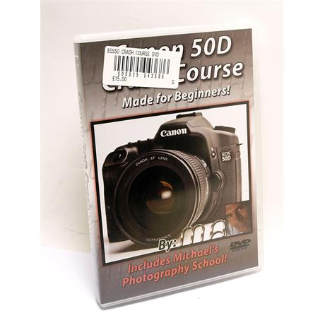 Blue Crane Canon EOS 50D Training DVD thumbnail