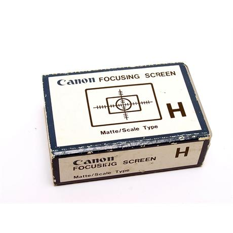 Canon F1 Focus Screen H thumbnail