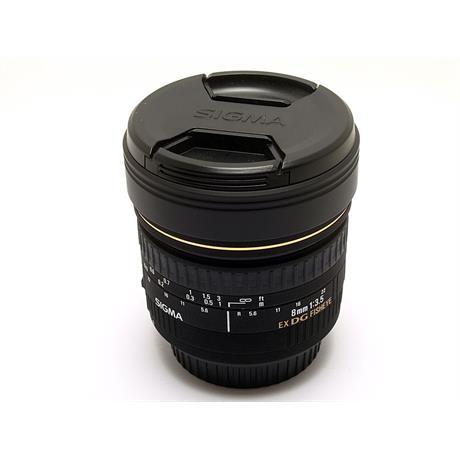 Sigma 8mm F3.5 EX DG Fisheye - Canon EOS thumbnail