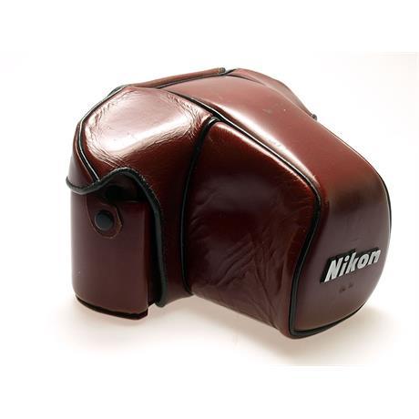 Nikon CF20 F3 Burgundy Leather Case thumbnail