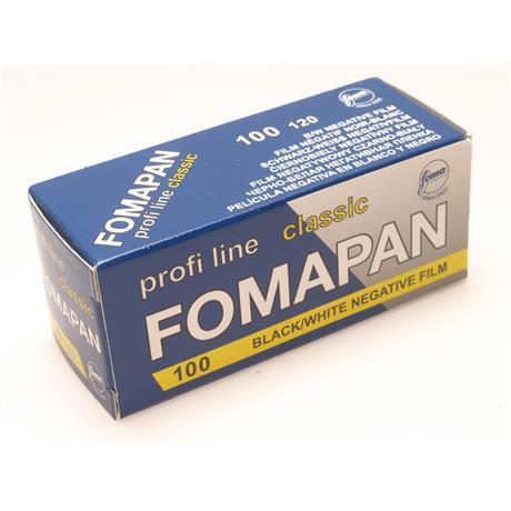 Fomapan 100 Classic 120 Roll Film x1 thumbnail