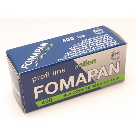 Fomapan 400 Action 120 Roll Film x1 thumbnail