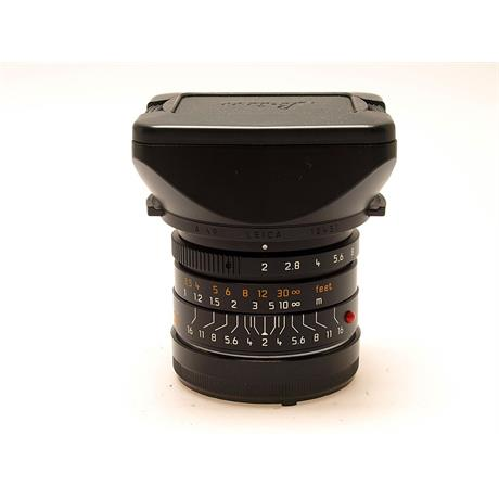 Leica 28mm F2 Asph M Black 6bit thumbnail