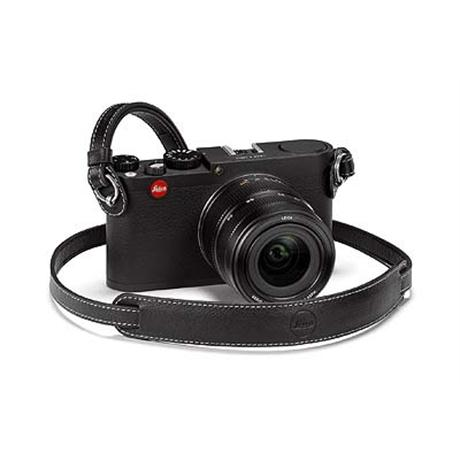 Leica Black Leather Neckstrap (X Vario) 18776 thumbnail