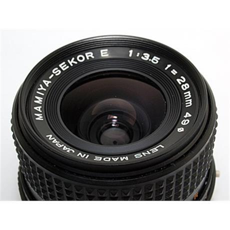 Mamiya 28mm F3.5 Sekor E thumbnail