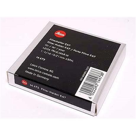 Leica Filter Adapter E67 for 16/18/21 Tri Elmar (14473) thumbnail