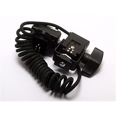 Calumet Pro Series coiled off-camera TTL flash cord (.53m) thumbnail