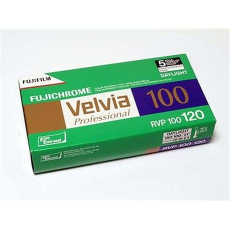 Fujifilm Velvia 100 120 Roll Film x1 thumbnail
