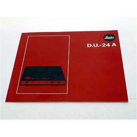 Leica DU-24A Dissolve Unit thumbnail