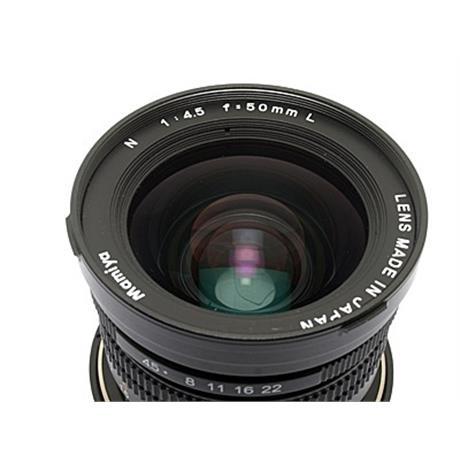 Mamiya 50mm F4.5 L + Finder thumbnail
