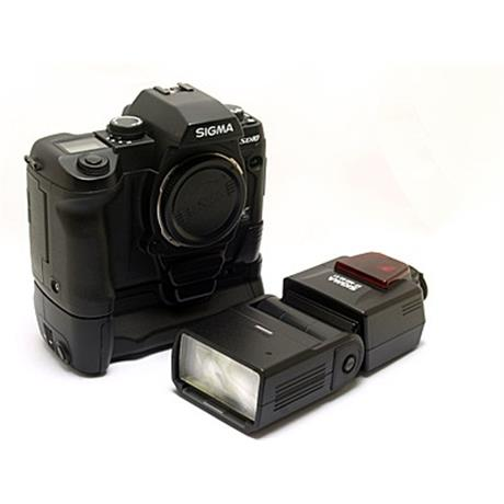 Sigma SD10 + EF500 DG ST + Grip thumbnail