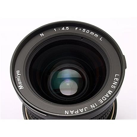 Mamiya 50mm F4.5 L + Finder thumbnail