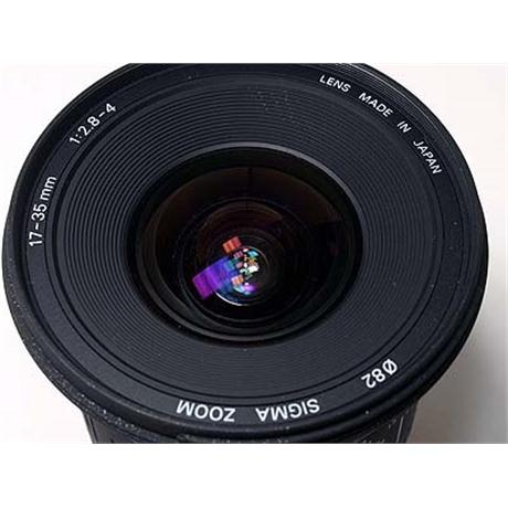 Sigma 17-35mm F2.8-4 EX HSM - Canon EOS thumbnail