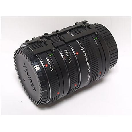 Vivitar Auto Extension Tube Set - Minolta MD thumbnail
