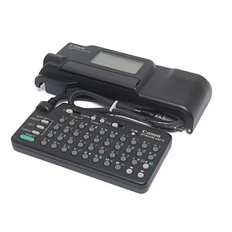 Canon Technical Back E with Keyboard thumbnail