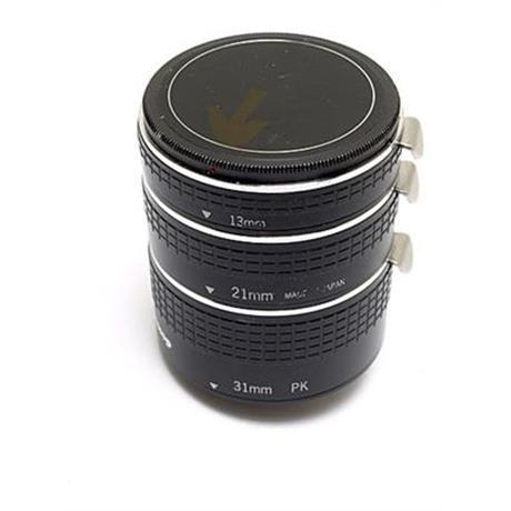 Uniplus 21mm/31mm Auto Extension Tubes - Pentax K thumbnail
