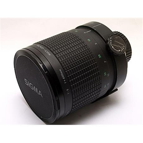 Sigma 600mm F8 Reflex - Nikon Manual thumbnail