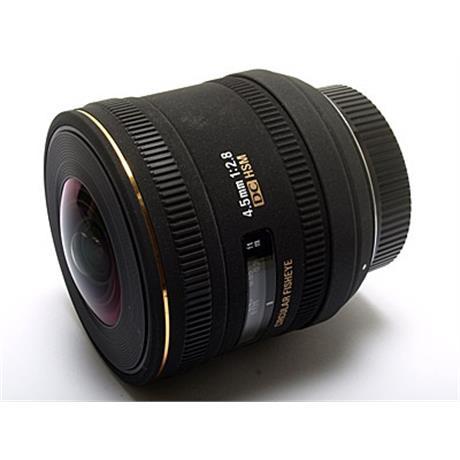 Sigma 4.5mm F2.8 EX DC Fisheye HSM - Nikon AF thumbnail